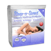 Double waterproof luxury mattress encasement