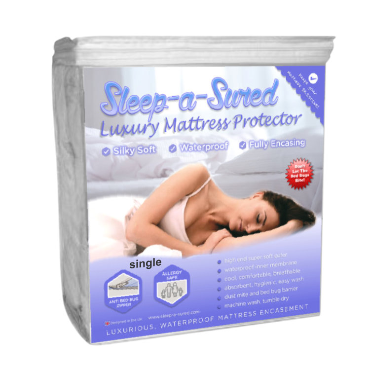 Single mattress encasement