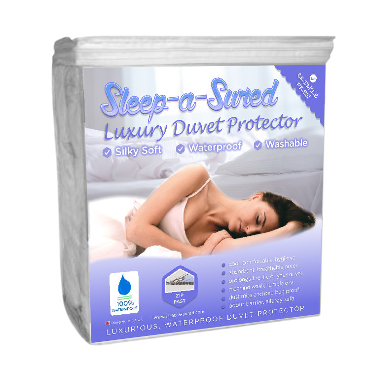 Waterproof Mattress Protector Double Anti Allergy Terry
